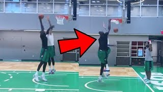 Tacko Fall DUNKING ON & EXPOSING Teammates AT Celtics Practice | PURE DOMINANCE