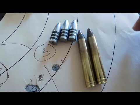 Range Test: The Lee 459 500 3R At BHN 10 In The 458 Winchester Magnum