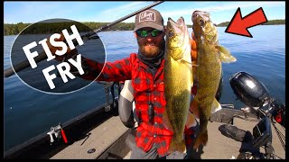 Fall Walleye Fishing + Catch and Cook
