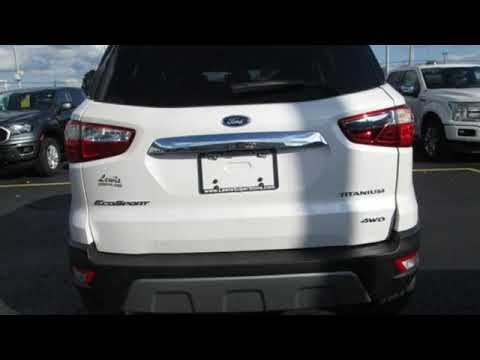 2020 Ford EcoSport Springdale Fayetteville, AR #LC317819