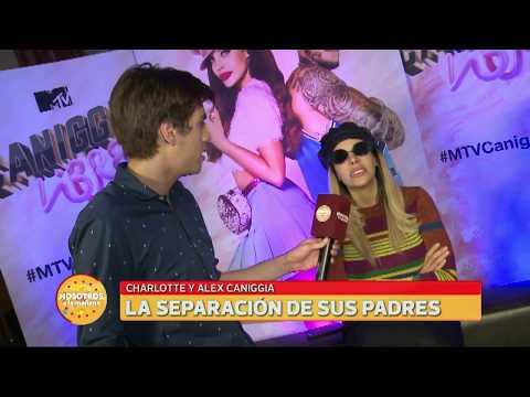 """""""Mora se quiere colgar de mí"""", Charlotte Caniggia habló sobre los rumores que esparció la bailarina"""