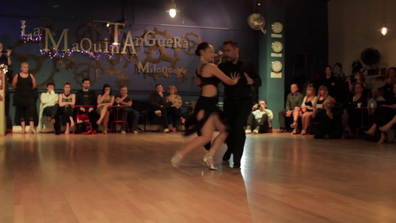Patricia Carrazco y Quique Miller - La Maquina Tanguera - Rimini 02
