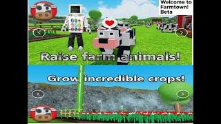 ROBLOX i play Farm Simulator nur ein lustiges Spiel neues Update