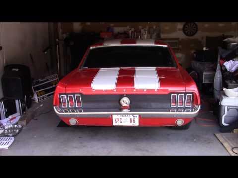1967 Mustang 306 Blueprint Crate Motor cold start