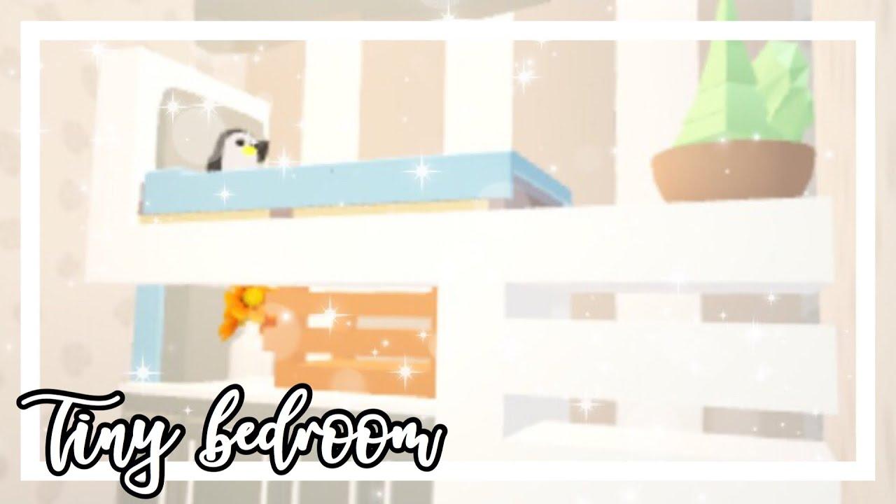 Tiny Bedroom Speedbuild Adopt Me Adopt Me Speedbuild Youtube
