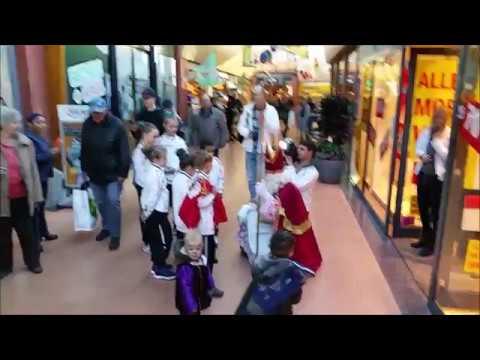 Kids Sparta tijdens opname RTL4 in de Wieen