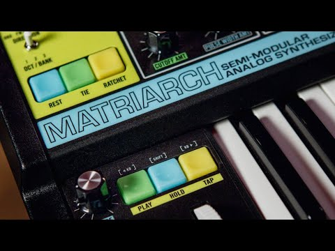 Moog Matriarch A 4-Note Paraphonic Analog Synthesizer