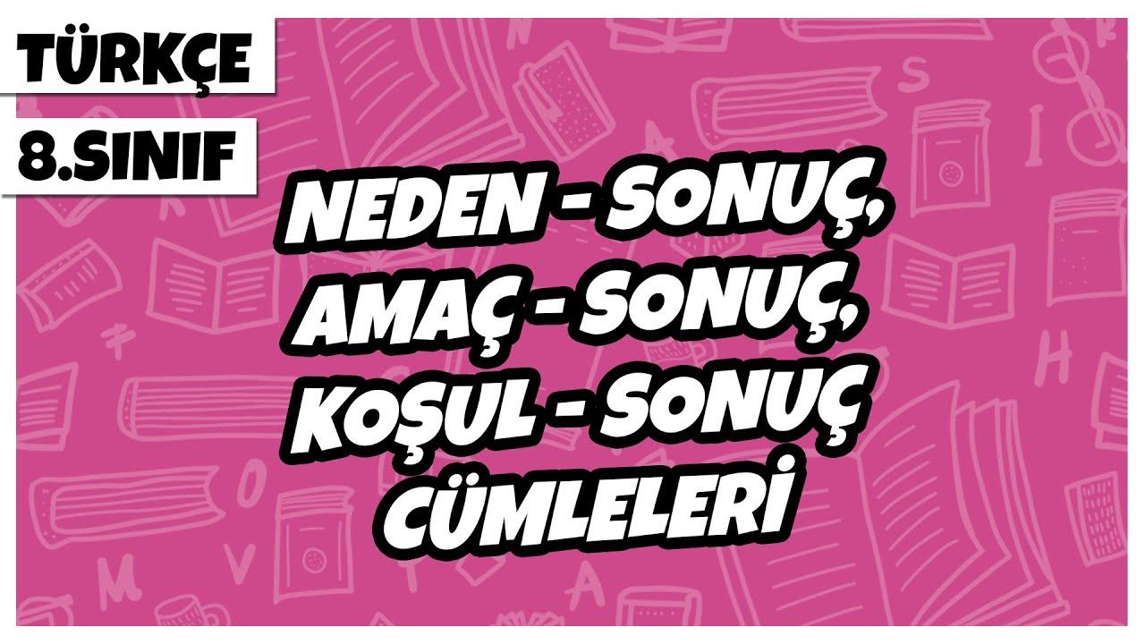 8. Sınıf Türkçe - Cümlenin Anlam Özellikleri -1 (Tanım, Öneri, Varsayım, Eleştiri) | 2021