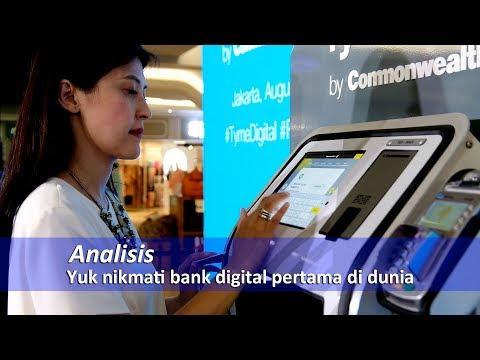 Yuk nikmati bank digital pertama di dunia