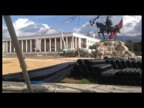 Albania ,Tirane nentor 2016(sheshi punime)