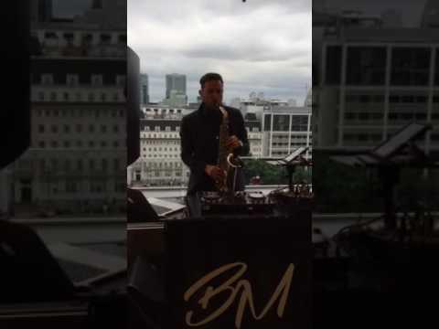 Sax DJ City of London Rooftop