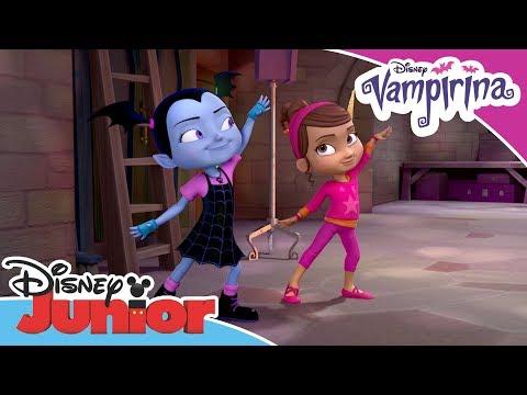Vampirina | Poppy and Vampirina Dance Together | Disney Junior Arabia