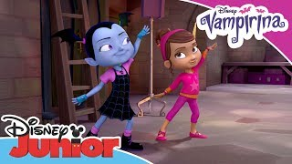 Vampirina | Poppy and Vampirina Dance Together | Disney Junior Arabia