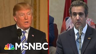 President Donald Trump, Michael Cohen, Rudy Giuliani & The Credibility Conundrum | Deadline | MSNBC