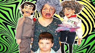 Slappy's MOM Gives AUBREY a MAKEOVER!!! Slappy Takeover! ATTACK OF THE VILLAINS!