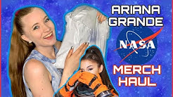 Ariana Grande NASA MERCH Unboxing & Try-On | Sara Harlee
