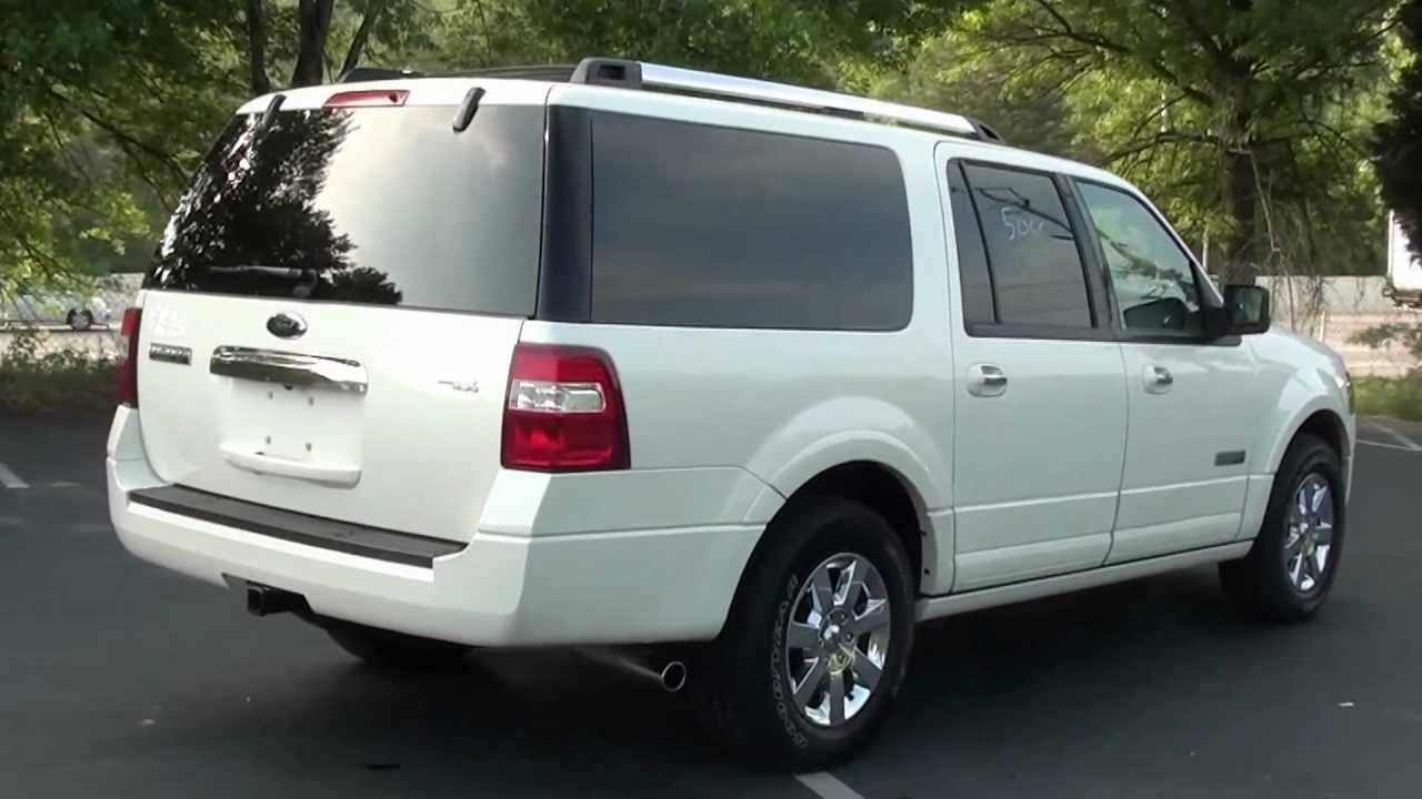 for sale 2008 ford expedition el limited 1 owner stk p6198 youtube. Black Bedroom Furniture Sets. Home Design Ideas