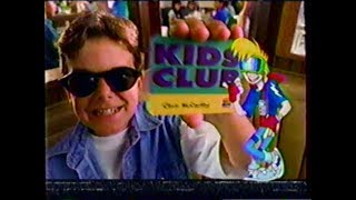 Fox Kids commercials (October 14, 1995)