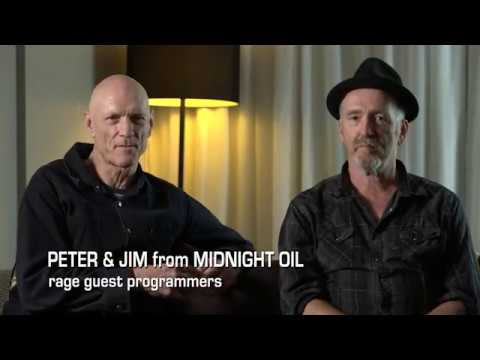 Midnight Oil discuss Hunters and Collectors on Rage
