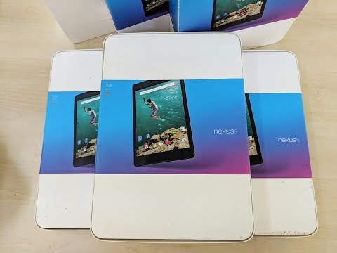 Thành Đạt Mobile | Trên Tay Máy Tính Bảng Google Nexus 9 Fullbox Phiên Bản 4G, Wifi 32GB