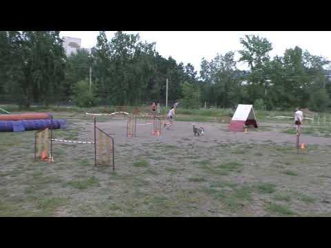 Смолиженко Ольга и Руша А2-2
