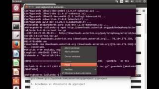 Instalación de Asterisk en Ubuntu 14.04 - Redes y Servicios Telematicos - UNAD