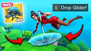 *NEW* LAND SUPER FAST TRICK! - Fortnite Funny Fails and WTF Moments! #577