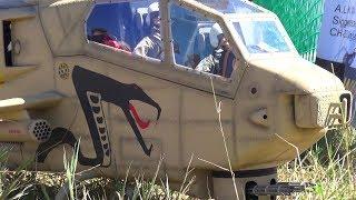 AH-15 SUPER COBRA RC SCALE TURBINE HELICOPTER MODEL DOUBLE GATLIN GUN