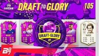 THIS DRAFT IS RUNNING RIOT! | FIFA 20 DRAFT TO GLORY #105