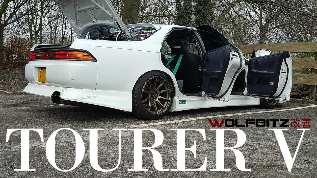 Wonderful TOYOTA MARK 2 JZX90 TOURER V DRIFT CAR YouTube