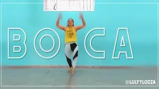 caliente coreografia zumba lali ft pabllo vittar