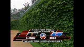 91 - Giants at Cubs - Monday, July 16, 2007 - 6:05pm CDT - ESPN