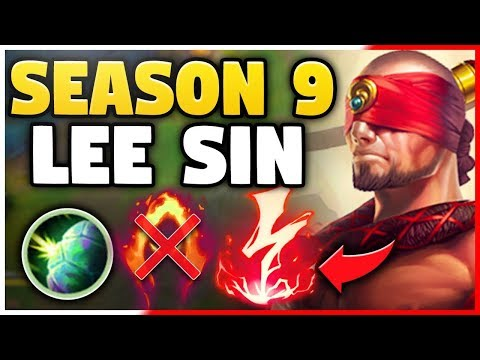LEE SIN IS SO HYPE FOR SEASON 9!! *NEW* PRE-SEASON 9 GAMEPLA