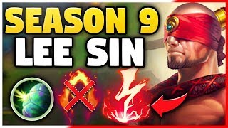 LEE SIN IS SO HYPE FOR SEASON 9!! *NEW* PRE-SEASON 9 GAMEPLAY & RUNES! - League of Legends