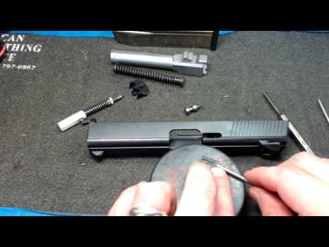 Smith & Wesson Sigma SW9VE Complete disassembly and reassembly