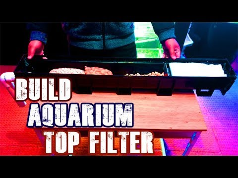 How To: Build DIY Aquarium Top Filter (Overhead Sump Filter)