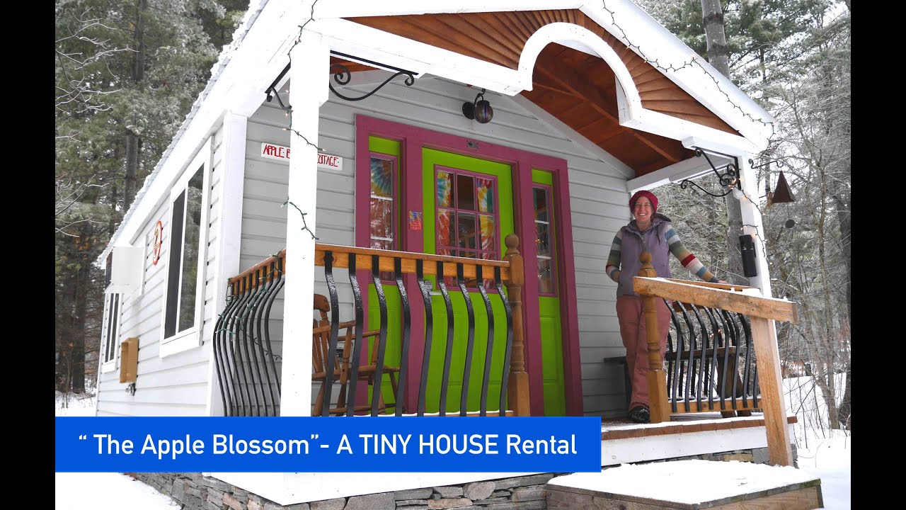 The Apple Blossom Cottage A Tiny House For Rent YouTube