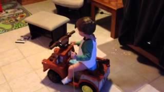Ezra and truck Thumbnail