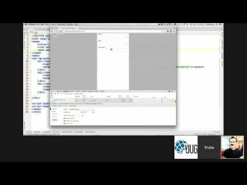 HTML5, AngularJS, Groovy, Java and MongoDB all together