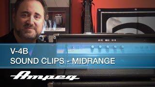 Ampeg V-4B 100W All-Tube Bass Head - Sound Clips - Midrange