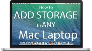 How to Add Storage to Any Mac Laptop
