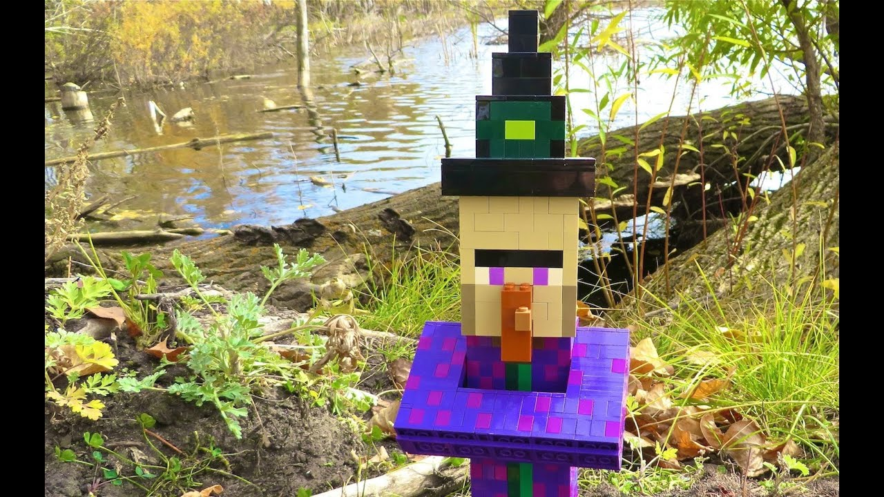 how to make a witches house minecraft