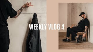 WEEK IN THE LIFE | Shopping, Photoshoot, Recent pick ups | Men's Fashion