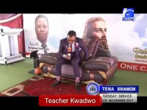 "Teacher Kwadwo VS Angel Obinim in Bible Wahala"""