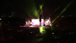 Coldplay Live at Rose Bowl 4K - 15 song clips plus James Corden - Sunday August 21, 2016
