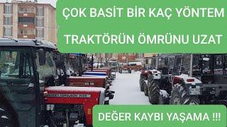 TRAKTÖRÜN DAHA FAZLA PARA ETSİN !!!