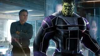 PROFESSOR HULK In Avengers Endgame - His Story Arc