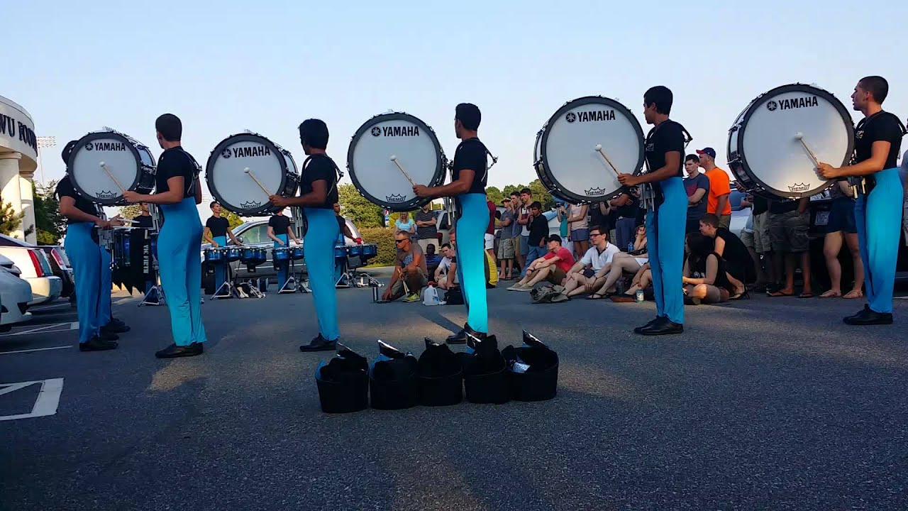 Carolina Crown Bass Drums Drumline 2014