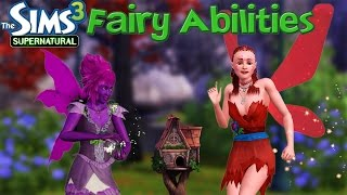 The Sims 3 Supernatural: Fairy Abilities
