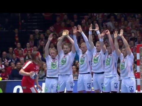 Mikkel Hansen goal against Norway